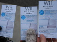 Getting a Wii!
